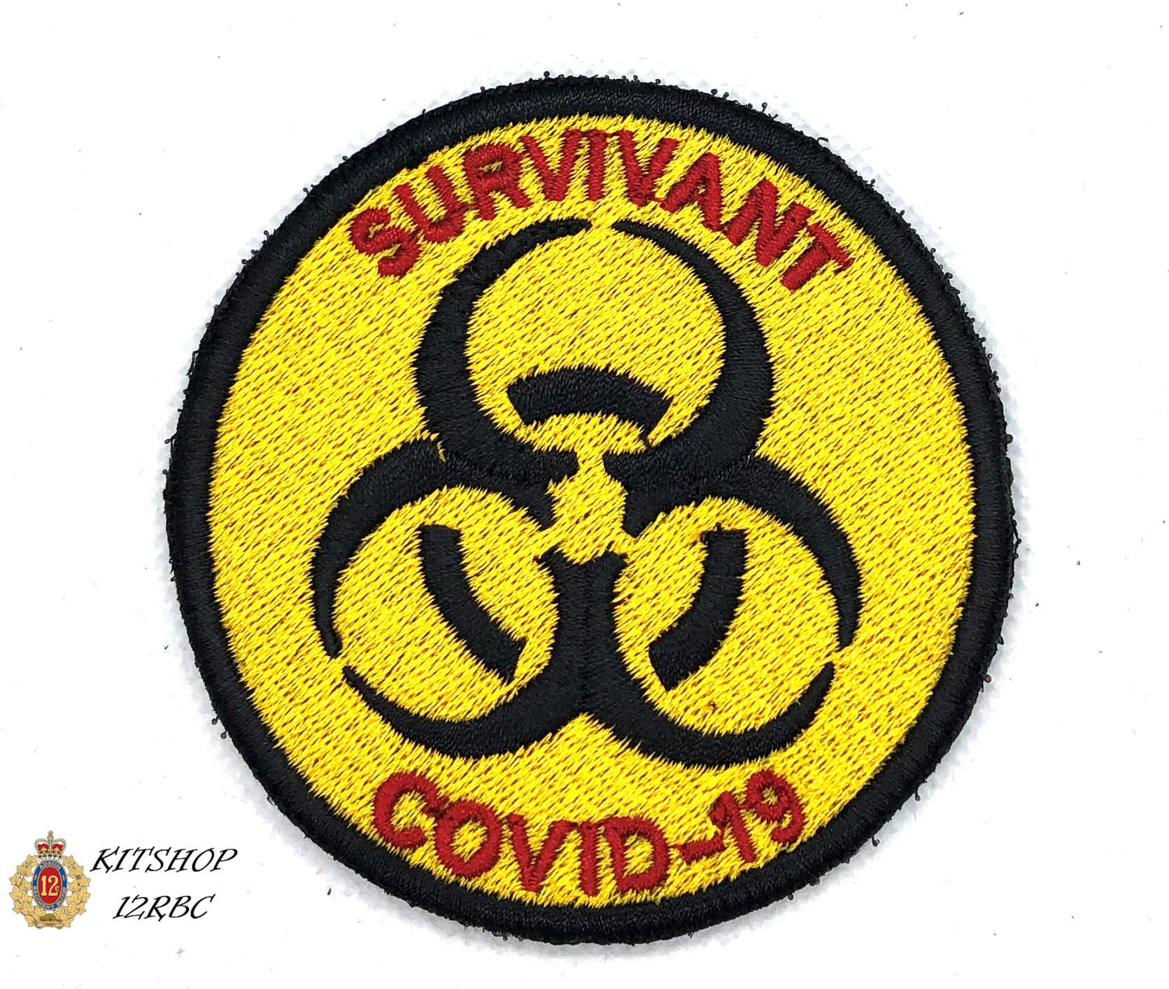 survivant covid19 – embroidery